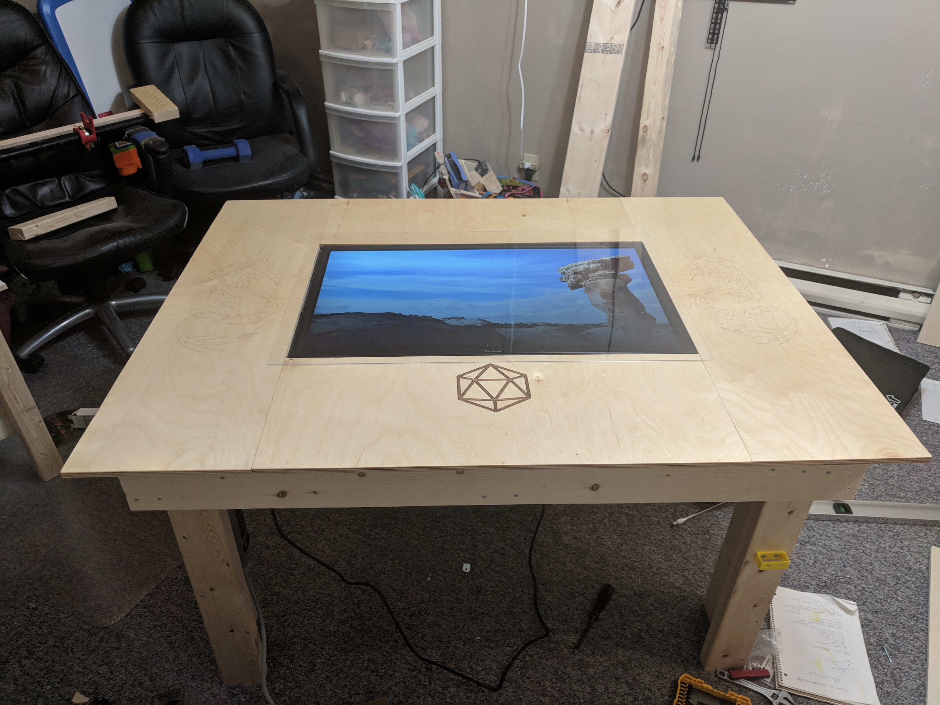 My D&D TV Table