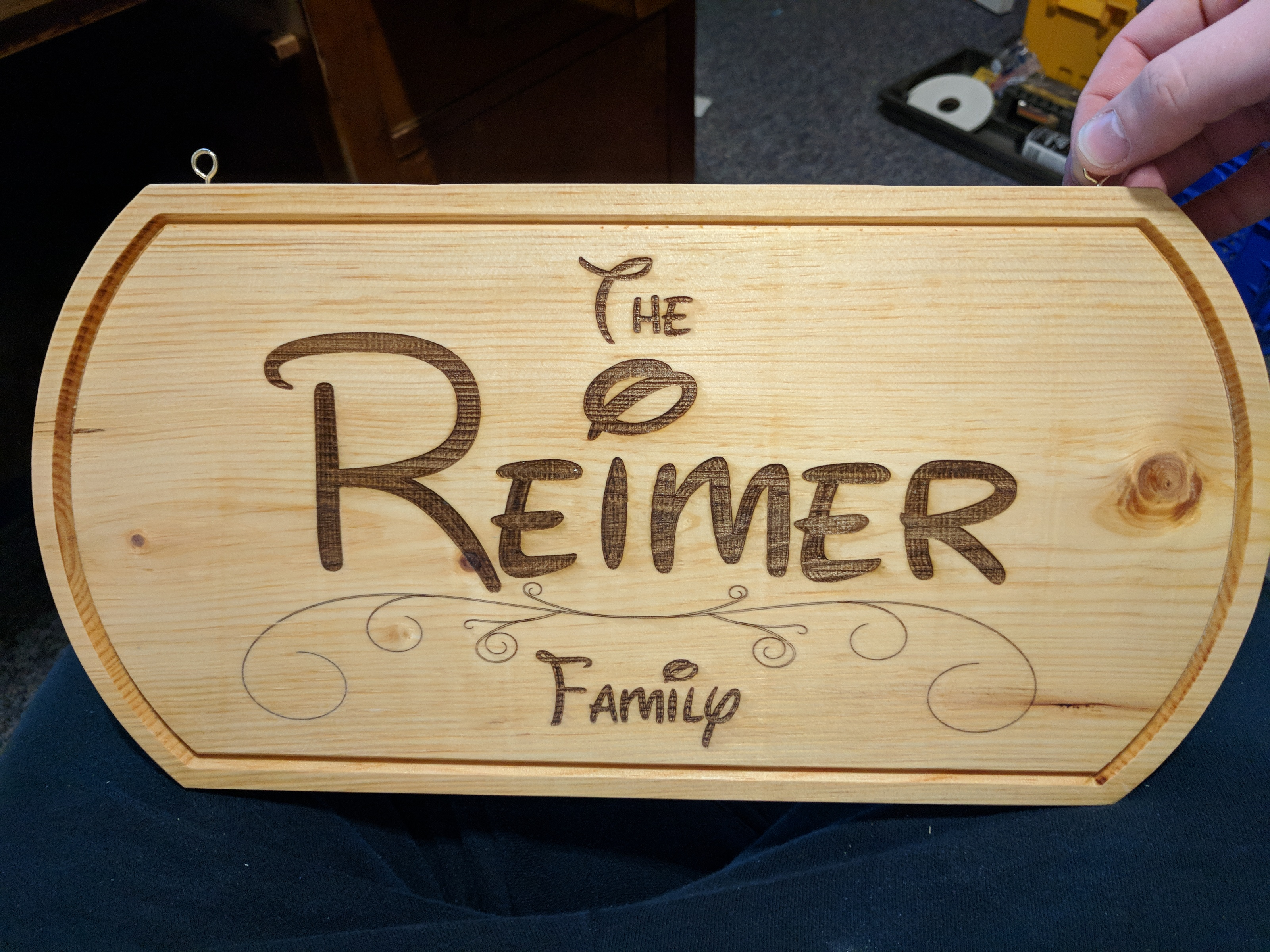 Project - Family Sign | Interesting Things